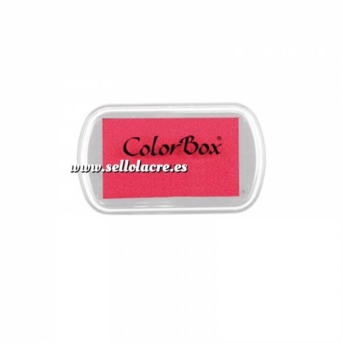 Imagen Tipos de TINTAS MINI TAMPON COLORBOX ROSA PINK (Últimas Unidades)