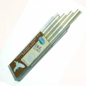 Barras para PISTOLA - Barra Lacre 11mm tipo Silicona Nácar PACK DE 4 para Pistola