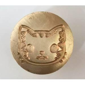 Diseños inmediatos - Sello lacre mango largo - ANIMALES - Gato (Últimas Unidades)