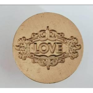 Diseños inmediatos - Sello lacre mango largo - BODAS - LOVE (Últimas Unidades)