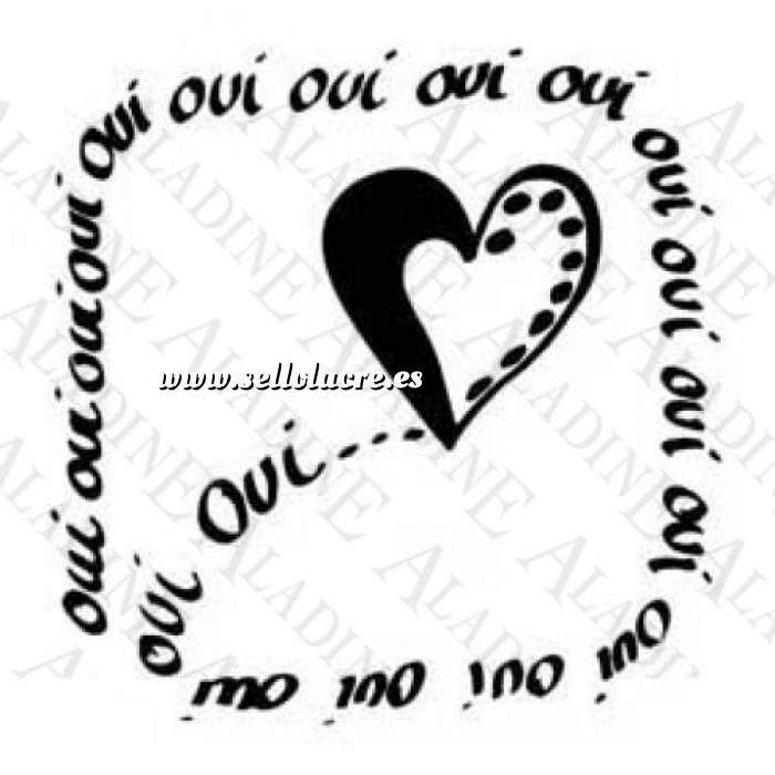 Imagen Amor y Boda SELLO CAUCHO CORAZÓN (Últimas Unidades)
