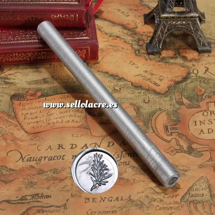 Imagen Barras para PISTOLA Barra Lacre 10mm Flexible pistola PLATA Brillante
