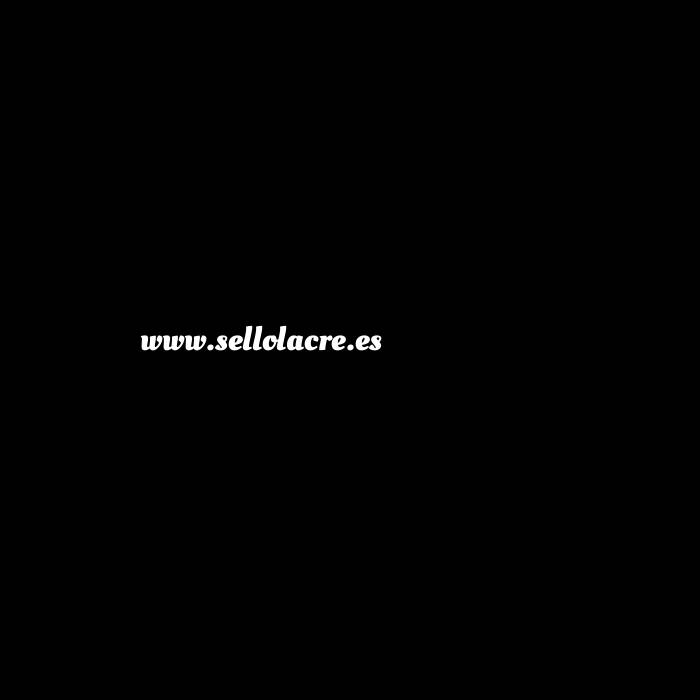 Imagen Diseños inmediatos Sello lacre Pequeño Flor de Lis (Sello mango corto más barrita de mecha)