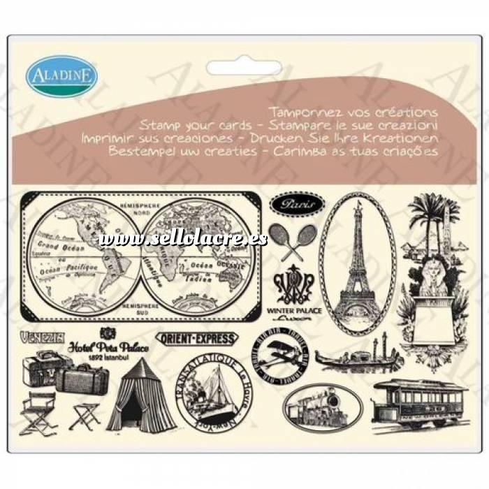 Imagen Diseños inmediatos Sellos con motivos de viaje (Descatalogado) (ultimas uds) (Últimas Unidades)