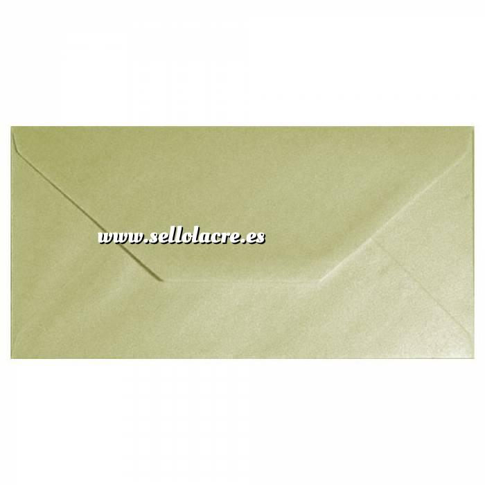 Imagen Sobre Americano DL 110x220 Sobre Perlado Champán DL