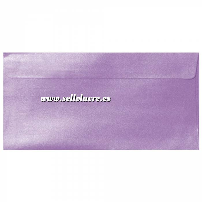 Imagen Sobre Americano DL 110x220 Sobre Perlado Lila DL (Lavanda)