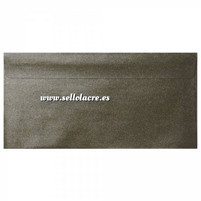 Imagen Sobre Americano DL 110x220 Sobre Perlado verde oscuro DL