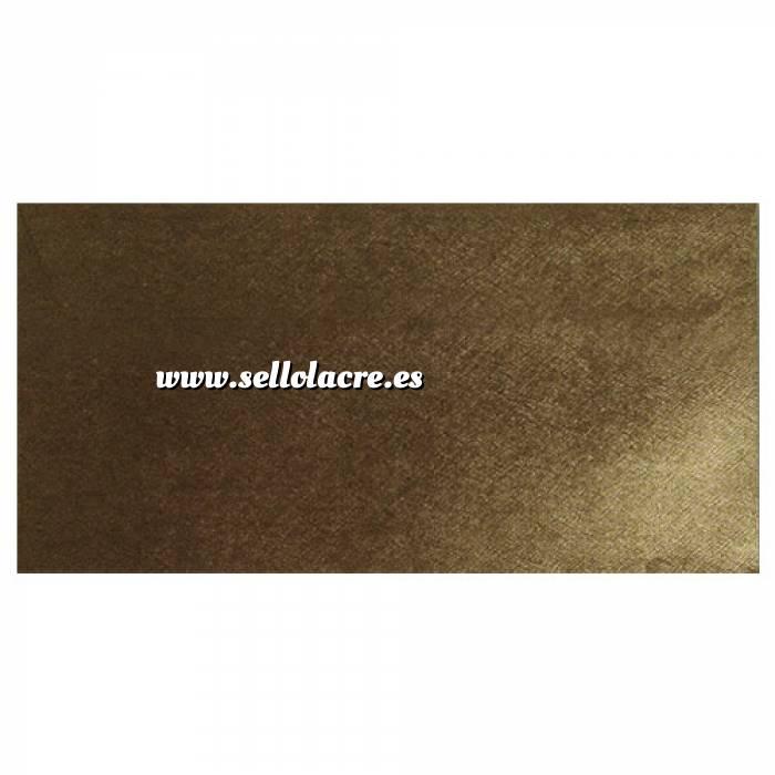 Imagen Sobre Americano DL 110x220 Sobre textura marrón DL - Bronce