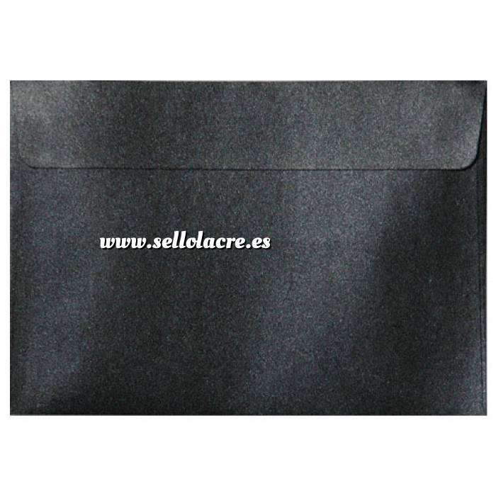 Imagen Sobres C5 - 160x220 Sobre Perlado negro c5