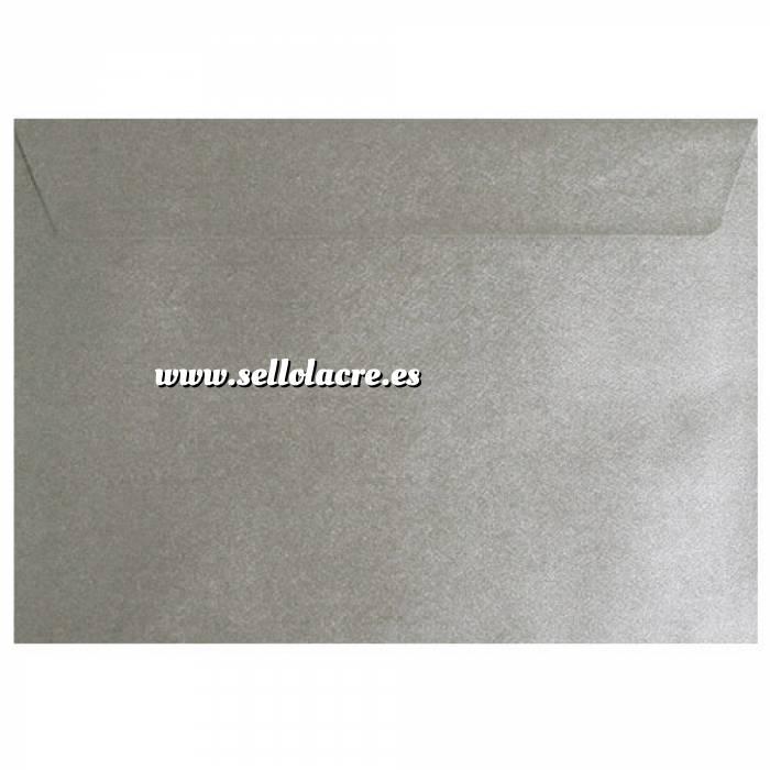 Imagen Sobres C5 - 160x220 Sobre textura plata c5
