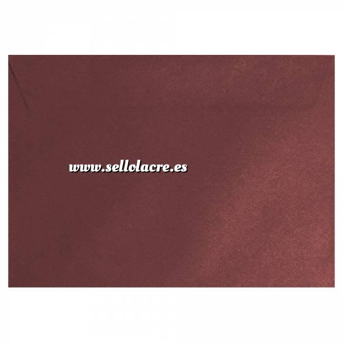 Imagen Sobres C5 - 160x220 Sobre textura rojo c5 - Vino Burdeos