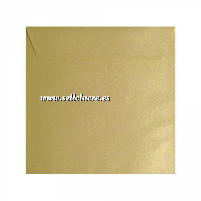 Imagen Sobres Cuadrados Sobre textura crema Cuadrado