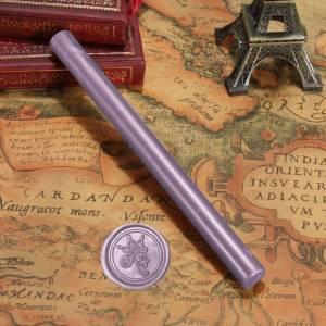 Barras para PISTOLA - Barra Lacre 10mm Flexible pistola LILA Brillante