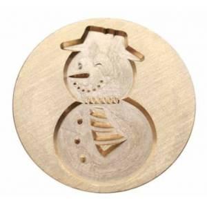 Imagen Diseños inmediatos Sello lacre mango largo - NAVIDAD -Muñeco de nieve(Últimas Unidades)