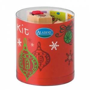 Kits 15 sellos - Sellos Navidad 2. Incluye 15 diseños y 1 tampón negro (Descatalogado) (ultimas uds) (Últimas Unidades)