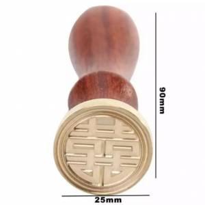 Símbolos - Sello lacre mango largo - SIMBOLO CHINO (Últimas Unidades)