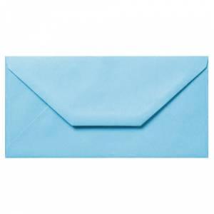 Sobre Americano DL 110x220 - Sobre Celeste DL (Azul Pastel)